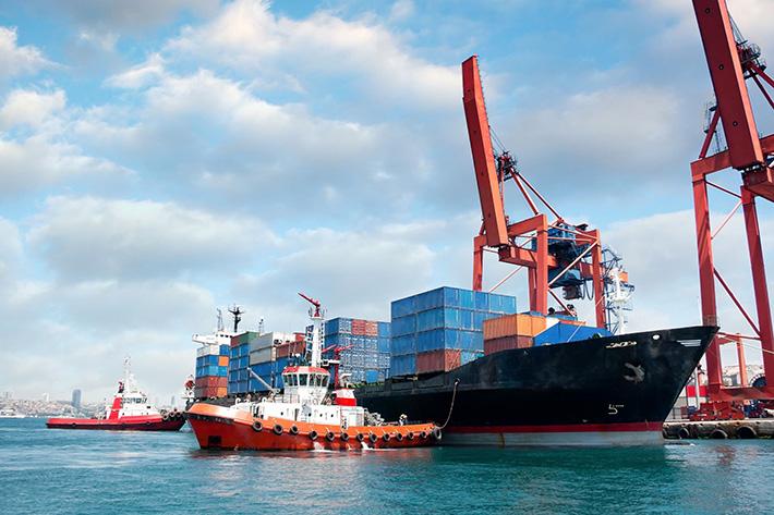 Mercado global de transporte de carga marítima